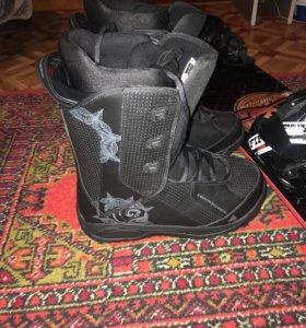 Сноубодические ботинки