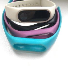 Фитнес-браслет Xiaomi Mi Band с часами + браслеты