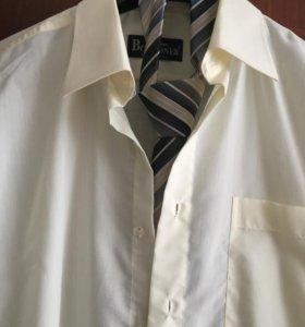 сорочка мужская плюс галстук