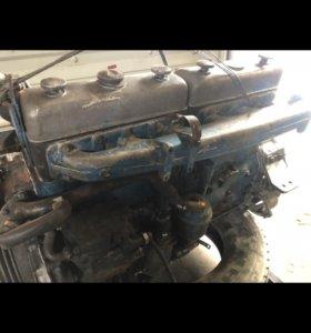 Двигатель мотор Scania DS 1101