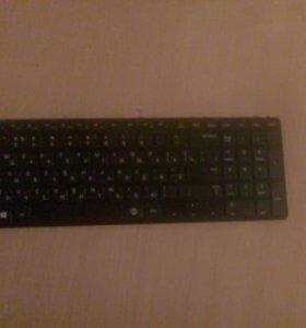 Клавиатура ноутбука samsung ( ИДЕАЛЬНО ЦЕЛАЯ)
