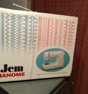 Швейная машинка Janome Jem Япония
