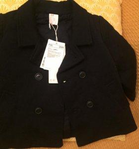 Детское пальто H&M новое 86 размер