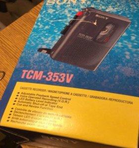 Sony tcm-353v Диктофон