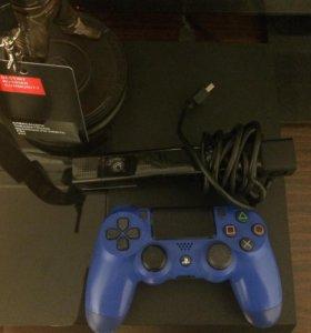 PS4 500GB Black + PS Camera + Horizon