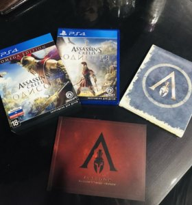 Assassins creed Odissey Omega Edition PS4