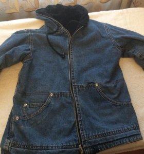 Куртка двухсторонняя для мальчика