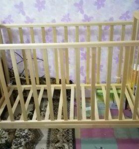 Кровать детская как новая