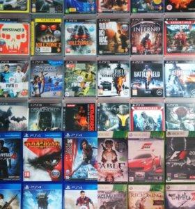 Игры PS3,PS4,Xbox360,Xbox One(Продам,Обменяю)