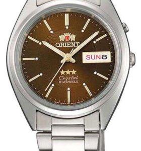 Мужские часы Orient steel brown 2