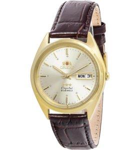 Мужские часы Orient brown gold 2