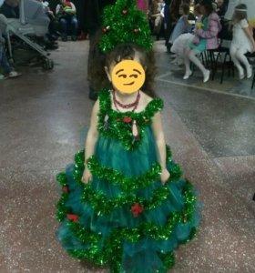 Детское платье на новый год
