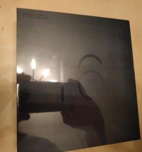 Meizu 16th 6/64 черный Global version + стекло