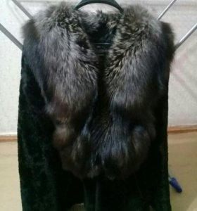 Шуба мутон размер 44 -46