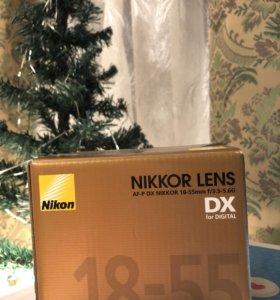 Объектив Nikon 18-55 mm