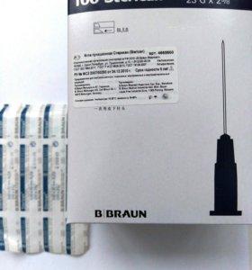 Игла Sterican 23G(0.6x60mm)В.Braun.
