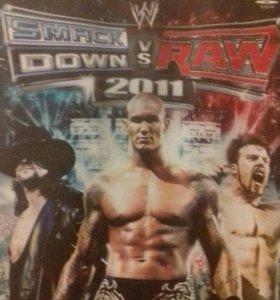 Игра на playstation 2 smack down vs raw 2011