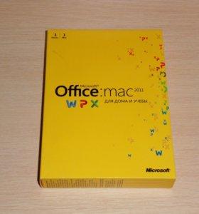 Microsoft Office Mac 2011 для дома и учебы WPX BOX
