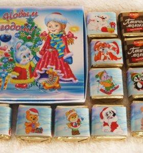 шоколадные наборы Shokobox