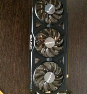Видеокарта Gigabyte GeForce GTX 760. 2gb