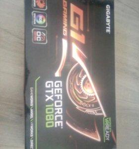 Видеокарты Gigabyte GeForce GTX 1080