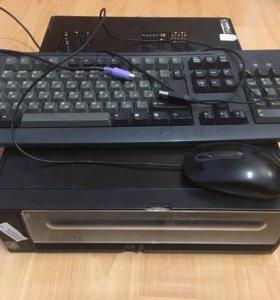 Бюджетный системник Cel 440/озу-2Gb/HDD-80 Gb