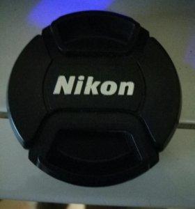 Крышка от обьектива Nikon