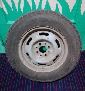Продам колёса 13` зима