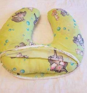 Подушка для кормления/беременных Папитто как новая
