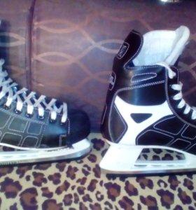 спортивные ботинки КАНАДА коньки для катка