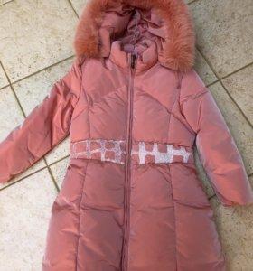 Пальто детское пуховое
