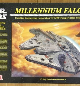StarWars Millennium Falcon FineMolds 1/72