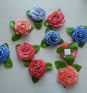 Бант-роза (подарочная упаковка)