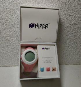Смарт-часы Hiper Babyguard розовые