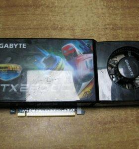 Видеокарта GTX 260 896мб с гарантией в полгода