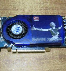 Видеокарта Radeon X1950 Pro 512 гарантия 6 месяцев