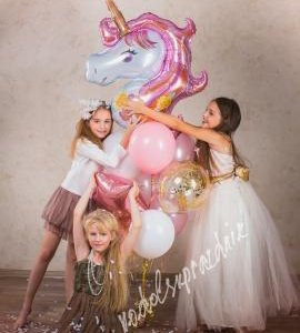 Воздушные шары с гелием, оформление праздника