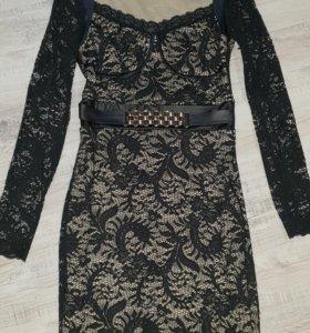 Продам гипюровое платье