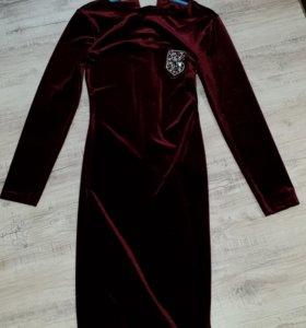 Продам бархатное платье