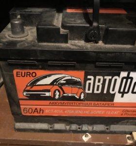 Аккумулятор Автофан 60ah