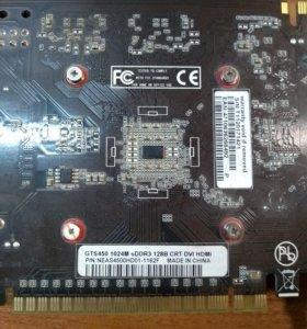 Видеокарта Nvidia GTS 450 1Gb Palit
