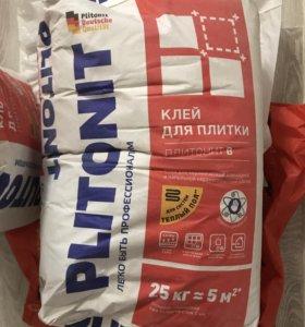 Клей для для плитки Plitonit