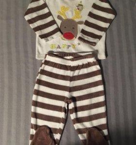 Велюровый костюм, пижама