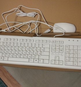 Клавиатура и мышь HP