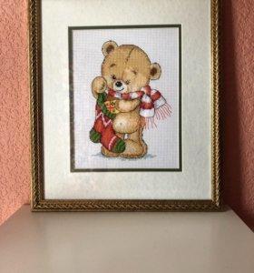 Картина мишка