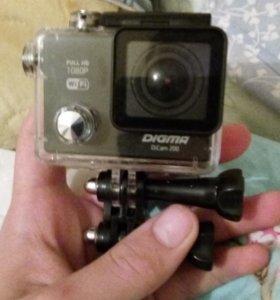 Экшен камера DIGMA PRO