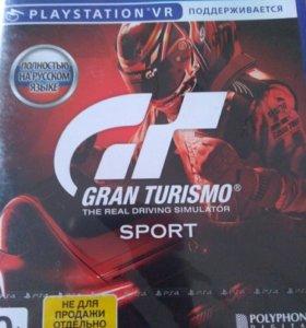 GRAN TURISMO SPORT Новая!!!