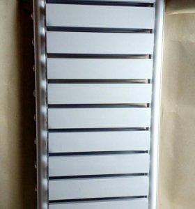 Радиатор алюминиевый.
