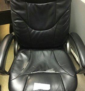 Перетянем и отремонтируем кресло Бюрократ