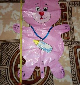 Фольгированный шар на Рождение девочки